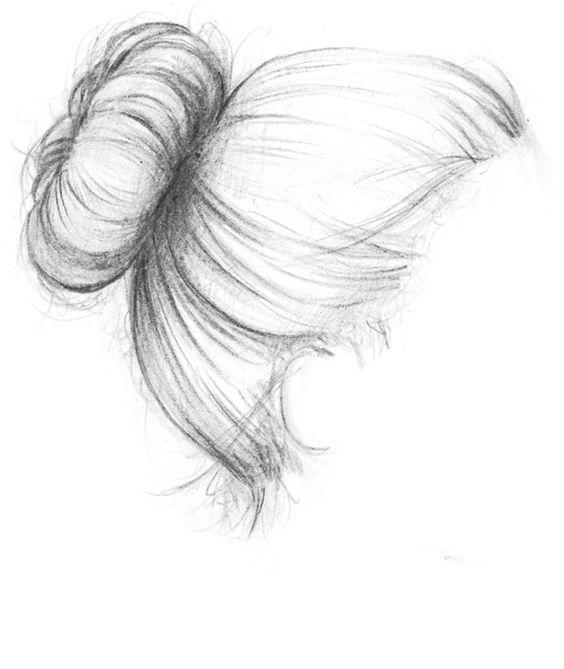 Haare zeichnen. Besuchen Sie meinen Youtube-Kanal, um das Zeichnen und Malen zu lernen