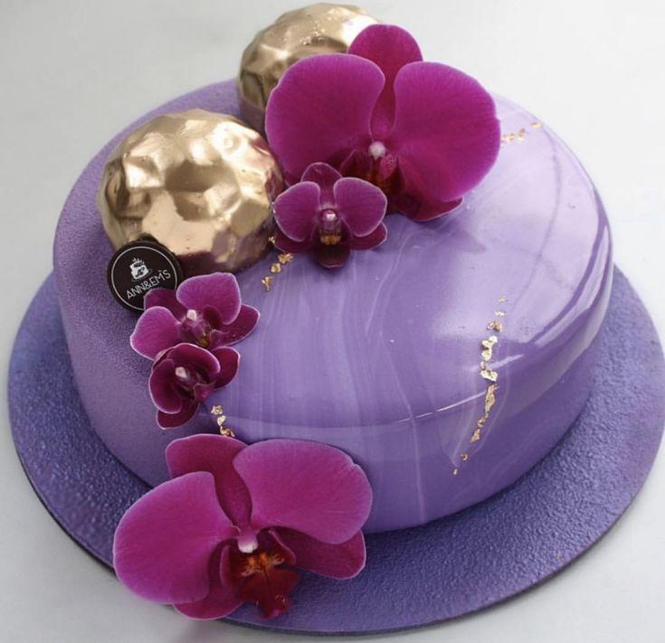 Торт орхидея рецепт с фото