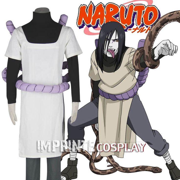 Naruto Shippuden Orochimaru Cosplay Costume Full Set FREE P&P #Costumes