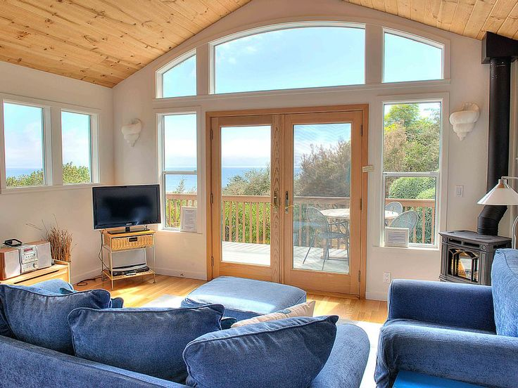 Stinson Beach Vacation Rental - VRBO 605778 - 1 BR San Francisco Bay Area House in CA, Honeymoon Cottage with Sweeping Ocean Views