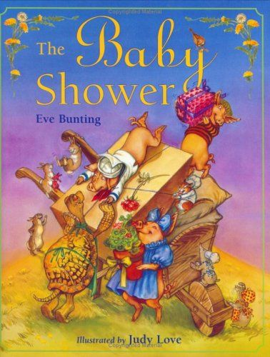 $15.95 Baby The Baby Shower - Ms. Brindle Cow has had a baby, and Chipmunk, Rabbit, Turtle, Pig, and Duck are on their way to celebrate, each bringing a gift for the special occasion. But it's Brindle Cow who has a surprise for her friends. She's given birth to twins! http://www.amazon.com/dp/B003A02QCW/?tag=pin2baby-20