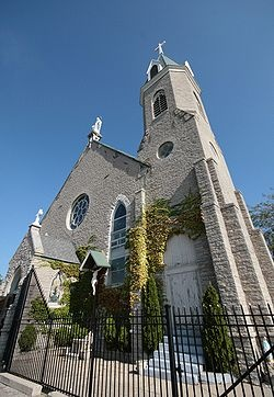 Holy Cross-Immaculata Catholic Church. Cincinnati, (Mt. Adams) Ohio