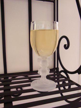 vin de mélisse (avec alcool de fruit)