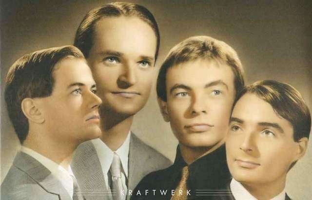 Kraftwerk Group Portrait Music Poster 11x17