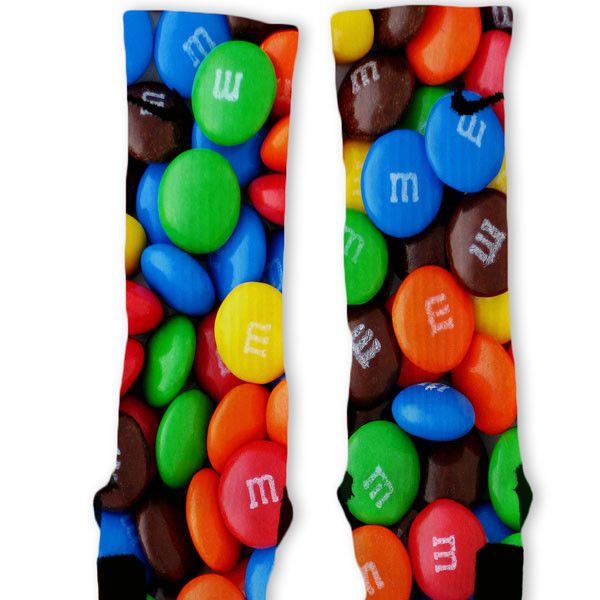 M&M Custom Nike Elite Socks