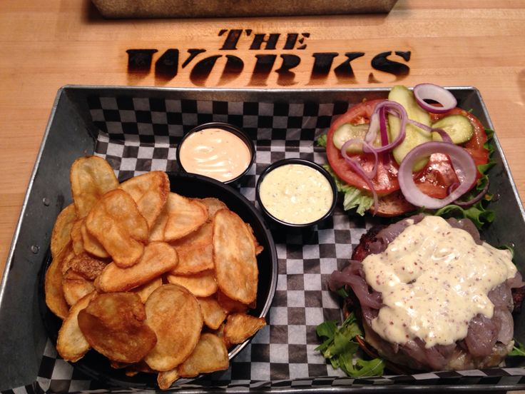 The works burger