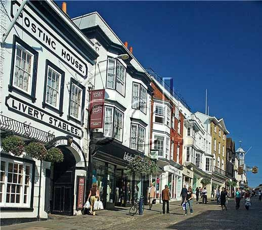 Guildford High Street - England -