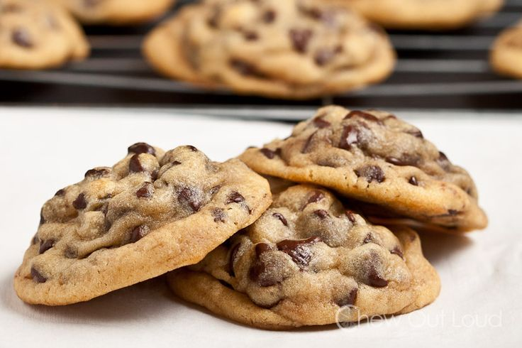 These soft chocolate chip cookies are chewy, soft, and decadent. They stay soft for days. Cookie dough freezes beautifully. Puffy but not cakey.