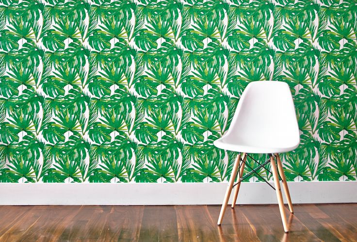 This print is inspired by greenery everywhere from Central Park to Southeast Asia. It's a Chasing Paper best seller!