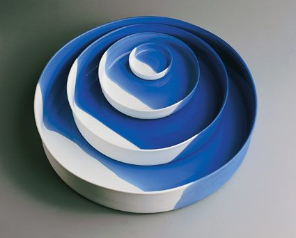 Piet Stockmans...simple and lovely glazing.
