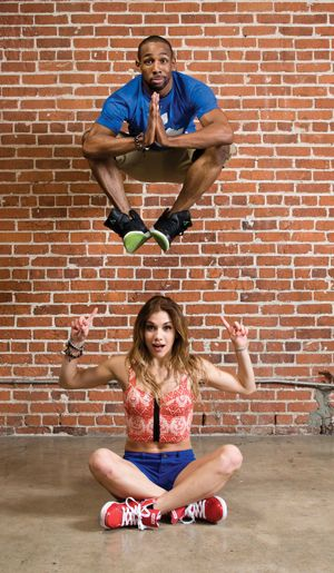 """Allison Holker and Stephen """"tWitch"""" Boss photographed by Joe Toreno."""