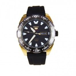 Japan Seiko 5 Sports SRP750 SRP750J Rubber Automatic 24 Jewels Male Watch