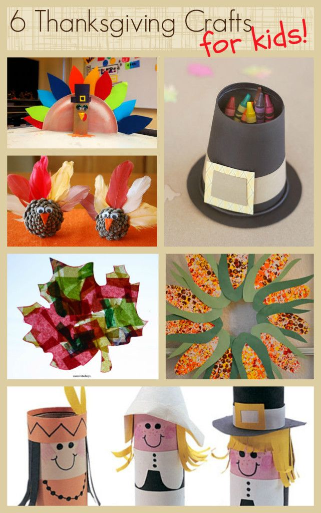 Thanksgiving crafts for kids fall crafts deco for Thanksgiving day craft ideas