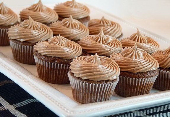 Nutella Fudge Brownies with Mocha Buttercream Frosting - The frosting ...