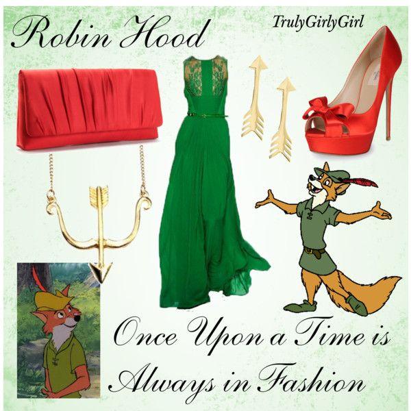 Disney Style: Robin Hood, created by trulygirlygirl on Polyvore