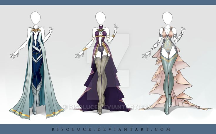 (CLOSED) Adoptable Outfit Auction 47 by Risoluce on DeviantArt