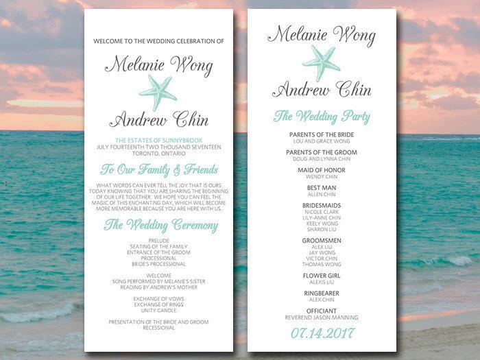 Best 25+ Wedding program templates ideas on Pinterest | Wedding ...