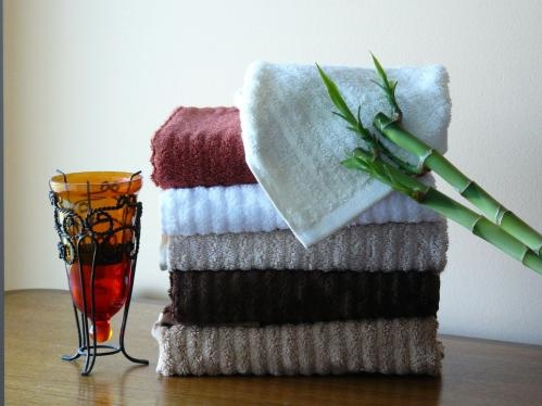 These towels are made of bamboo!