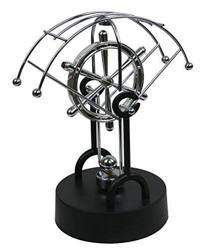 BOJIN Fan-shaped Asteroid Kinetic Desk Toy - Electronic Perpetual Motion