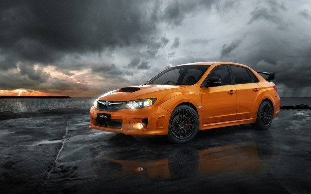 2012 Subaru WRX Club Spec front three quarter