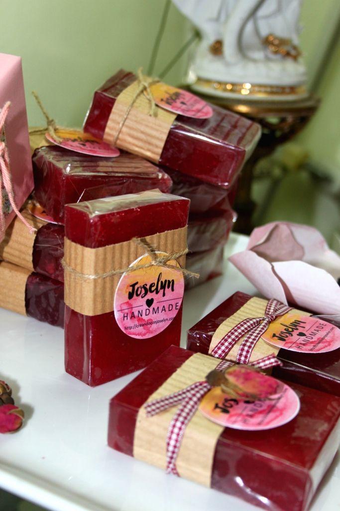 Expo jabones artesanales - Creando con Joselyn