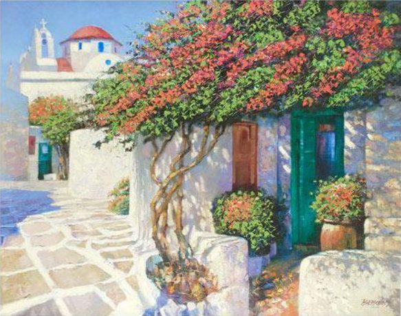 Howard Behrens - Memories of Mykonos, Greece