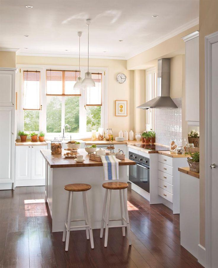 M s de 25 ideas incre bles sobre cocinas r sticas en for Lamparas cocinas rusticas