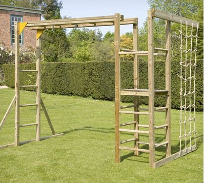 Action Monkey Bars Climbing Frame Outside Pinterest