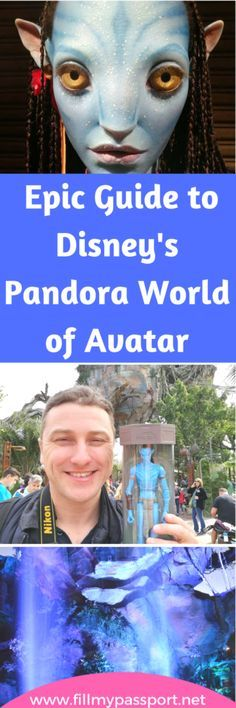 The latest world at Walt Disney World's Animal Kingdom will have Avatar fans super excited. Here is our guide on the attractions, the food, the ambiance, and some of the coolest souvenirs on Disney property. #Disneytravel #disneyanimalkingdom #pandoraworldofavatar #disneyvacayca