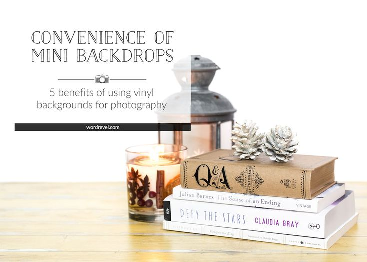 Last year I had the pleasure of being selected as a brand ambassador for Mini Backdrops. Over four months have passed since I received my choice of designs, so my three-month stint is already up. Still, I like them so much, I want to share some of the benefits I particularly have come to appreciate about Mini Backdrops.