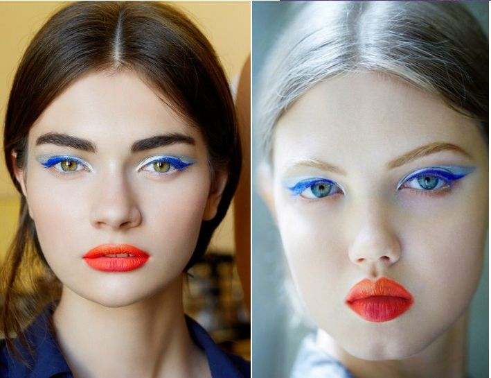 Utilizza un eyeliner blu per illuminare gli occhi... #Tips #Makeup del #Lunedì