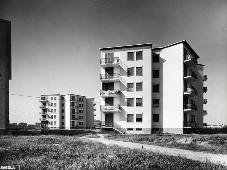 Case Incis al Quartiere Vialba - Franco Albini e Milano - itineraries - Ordine degli architetti, P.P.C della provincia di Milano