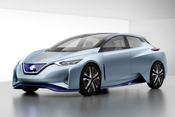 It is expected that 2018 Nissan Leaf will be available with multiple battery sizes from 40 kWh to 60 kWh, hence giving an increase in the 107 miles...Price.  #2018NissanLeaf #NissanLeaf #Nissan #electriccars