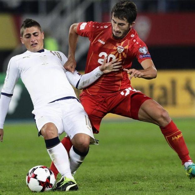 Marco #Verratti contro Stefan #Spirovski