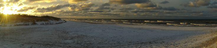 Poland, Ustka, Baltic Sea Ustka, Plaża Zachodnia best places ever <3