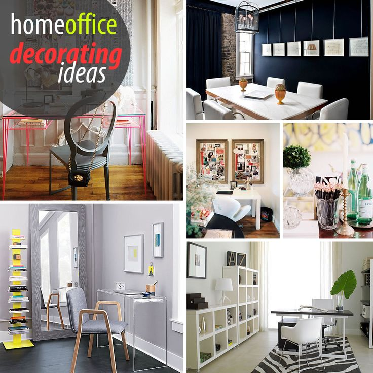 Creative Home Office Ideas: Best 17 Diy Office Decor Ideas On Pinterest