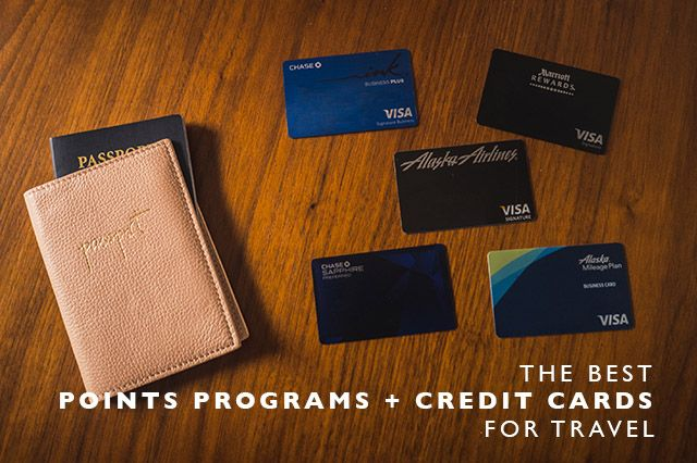 The Best Points Programs + Credit Cards for Travel - Land Of Marvels