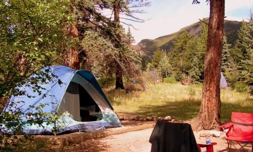 Aspenglen Campground in Rocky Mountain National Park @Ashley Walters @Paige Hereford