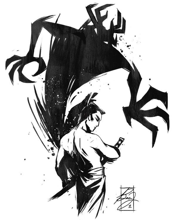 Day 11- Samurai Jack by BeaGifted.deviantart.com on @DeviantArt