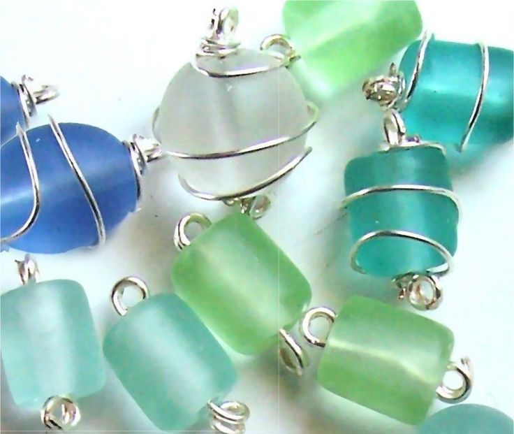 A Quick How To Wire Wrap a Glass Bead #Wire #Jewelry #Tutorials @Stacy Stone Stone Stone Apple