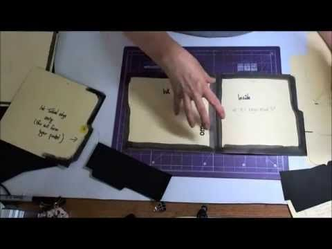▶ Making a File Folder Book Part 1 - YouTube