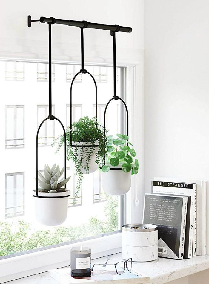 20 stylish hanging planters for small space dwelle…