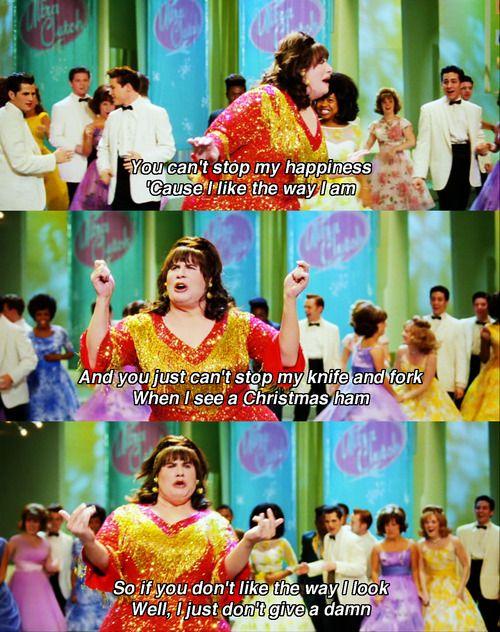 John Travolta singing You Can't Stop The Beat in Hairspray