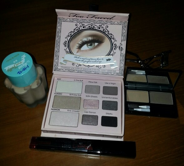 Product i used for my simple makeup