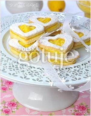 Kruche ciastka z lemon curd