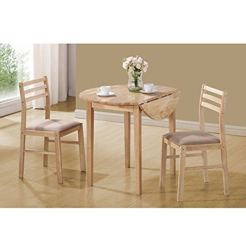 Ideal For Small Spaces, Lofts, Dorms And Kitchenettes Drop Leaf Table Top Opens  Up