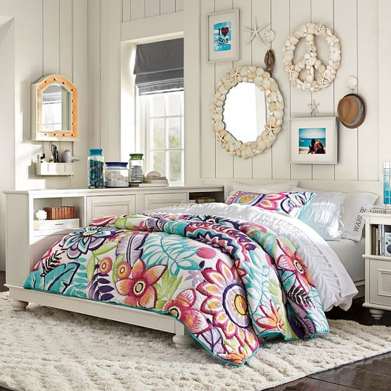 gorgeous quilt! from PBteen (Pottery Barn Teen)