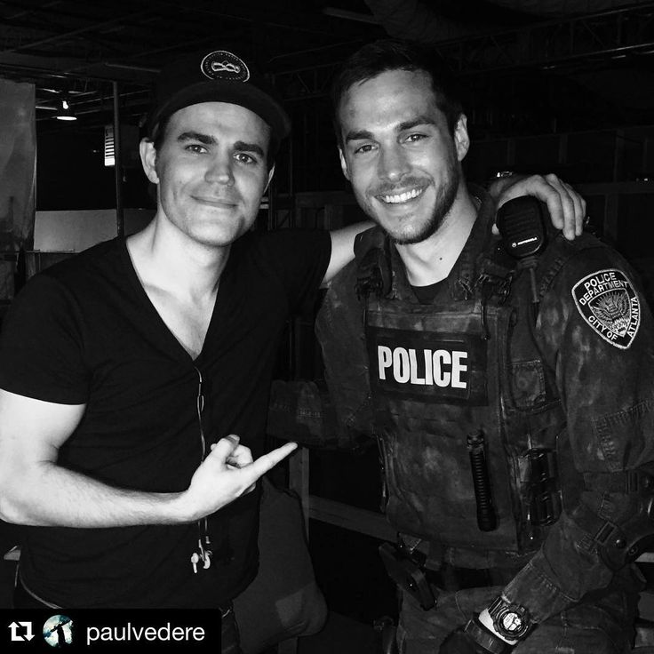 The Vampire Diaries ... Paul Wesley and Chris Wood as Stefan Salvatore and Kai Parker