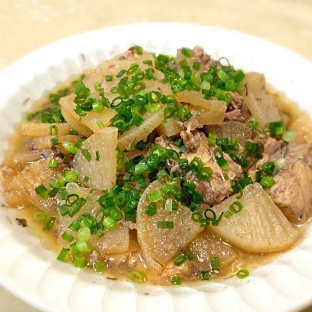 水煮缶を使うと簡単に作れて、なおかつ青魚が手軽に摂れるからイイですね☆ 思ってたよりあっさり目で食べやすいレシピでした♪  先日作られていたなおさん、食べ友よろしくです☆  2015.3.2 - 102件のもぐもぐ - 3/2 サバの水煮缶を使って大根の炒め煮 by atsu1143