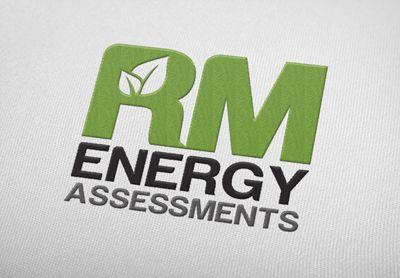 Logo designed for RM Energy Assessments.